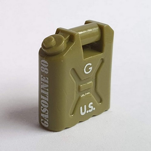 Printed Jerry Can / Fuel Can US Army Gasoline