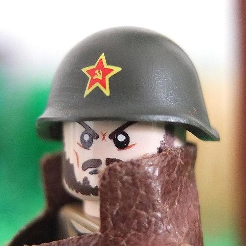 WW2 Russian Helmet SSh-40 with Soviet Star