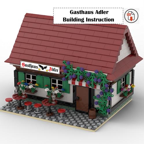 'Gasthaus Adler' Building Instruction