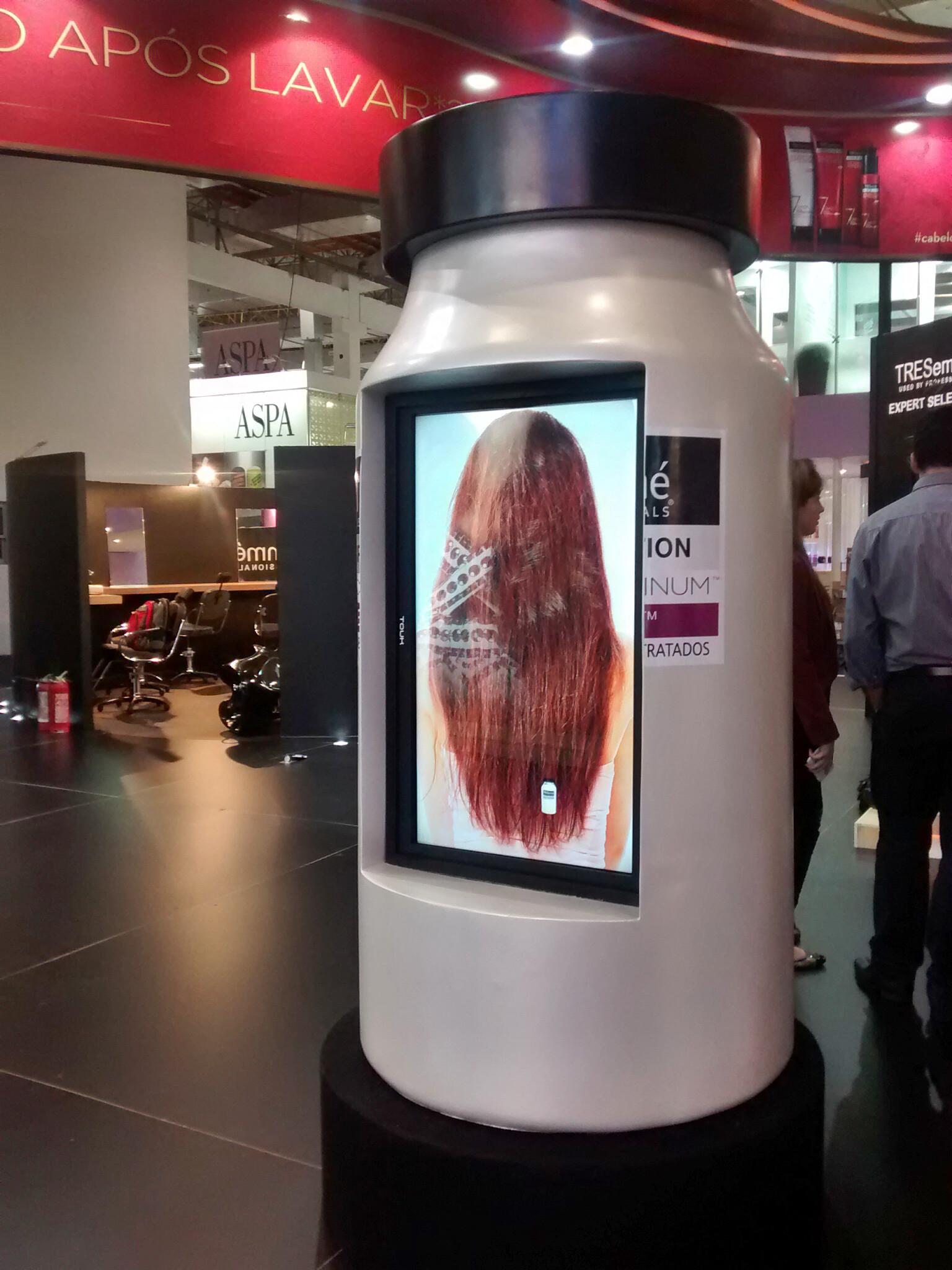 Mockup interativo touch
