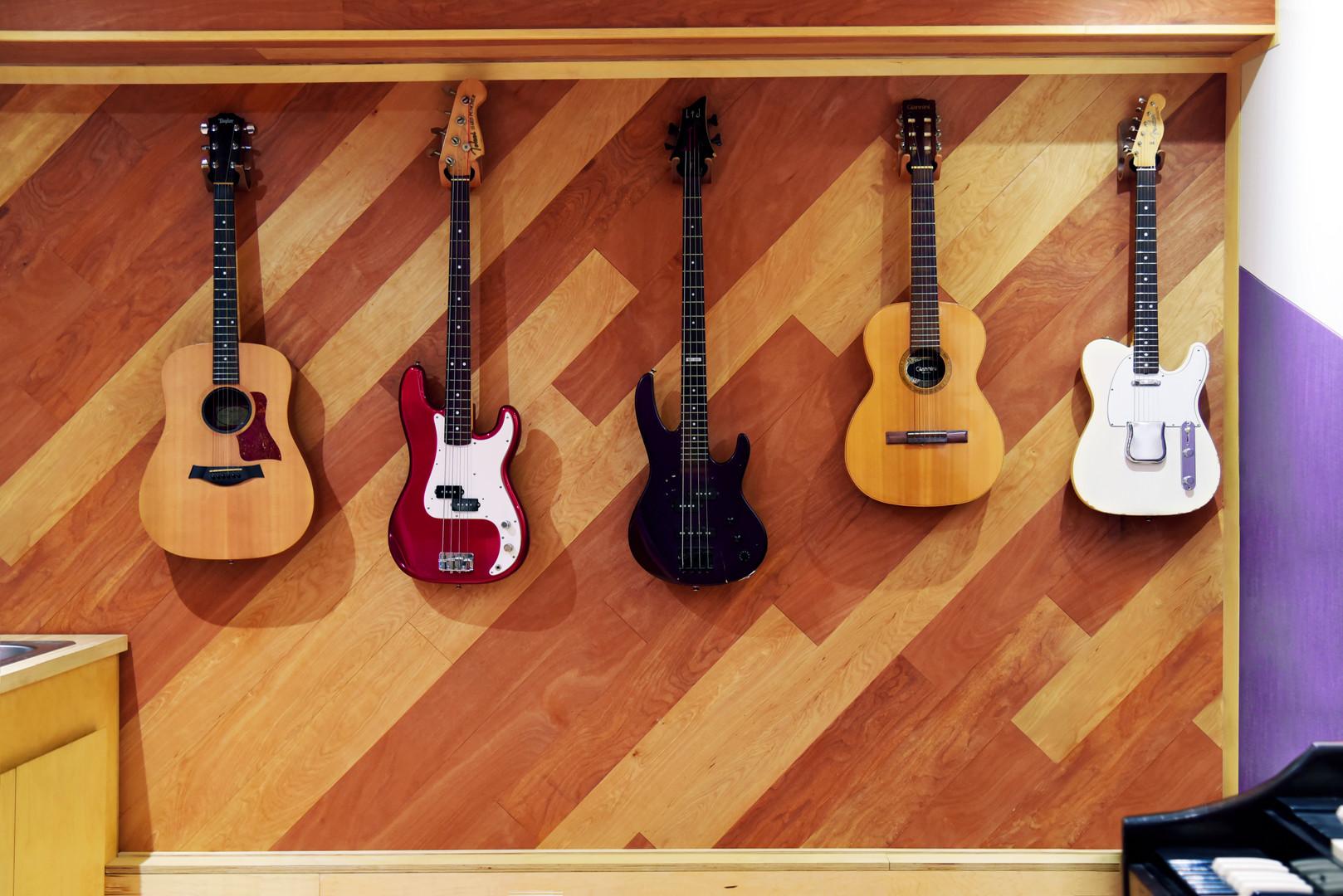 Guitar & Bass Wall