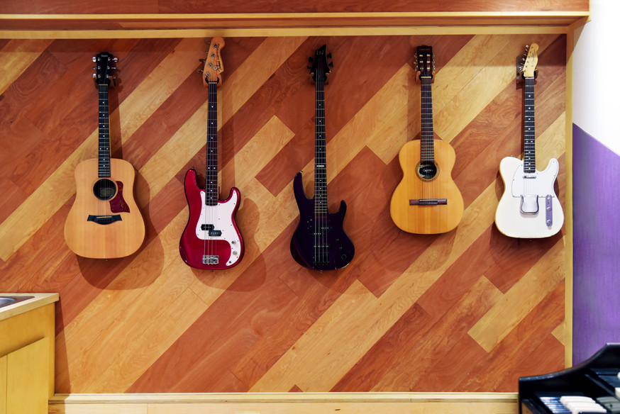 Guitar & Bass Wall