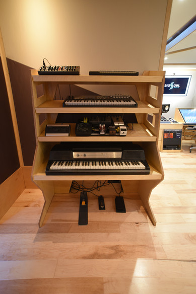 Keyboard Rack 1 w/Wurli 200a