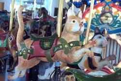 Carrousel closeup