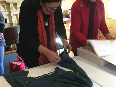 URRBRAE HOUSE HISTORIC PRECINCT: TEXTILE CONSERVATION ROADSHOW WITH CONSERVATOR MARY JOSE