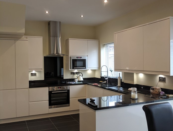 Kitchen and tiling in Newcastle.