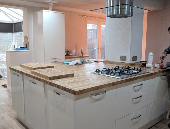 Kitchen fitting in Whitley Bay