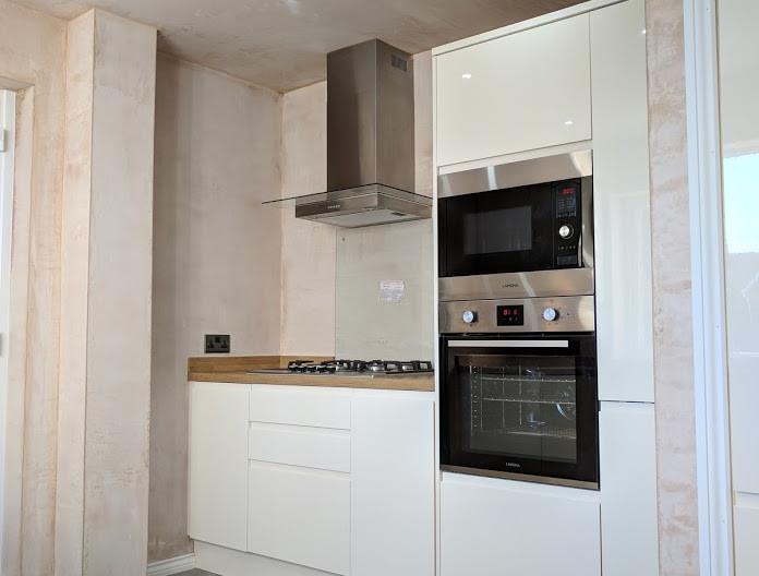 Kitchen installed in Whitley Bay