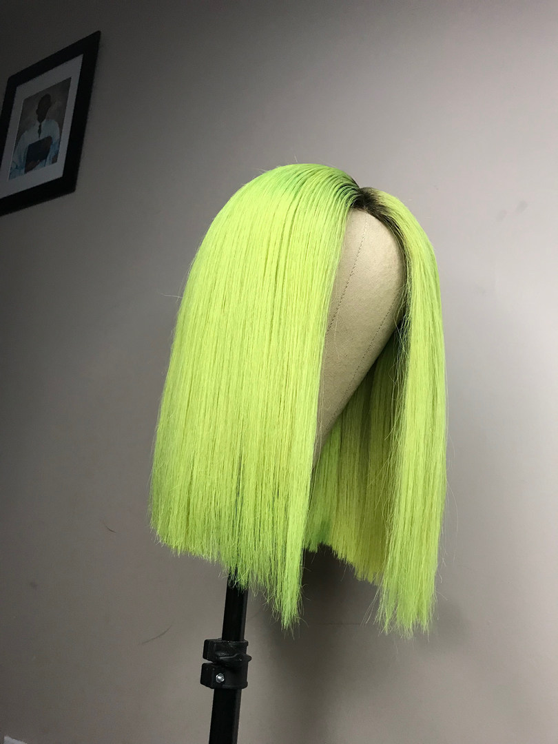 CUSTOM COLORED NEON GREEN UNIT
