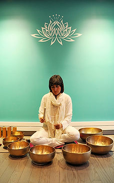 Karin Reetz and om bowls