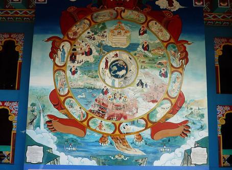 Ciclo de las Doce Causas de la Existencia (Pratītyasamutpāda)