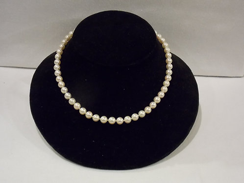 7.5 - 8mm Akoya pearl necklace