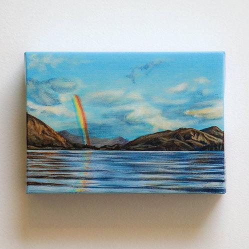 Lake Wānaka Rainbow