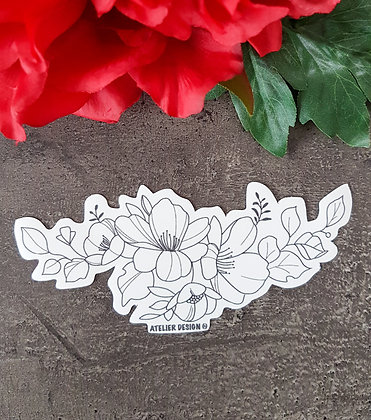 "Sticker ""Flowers 2"""