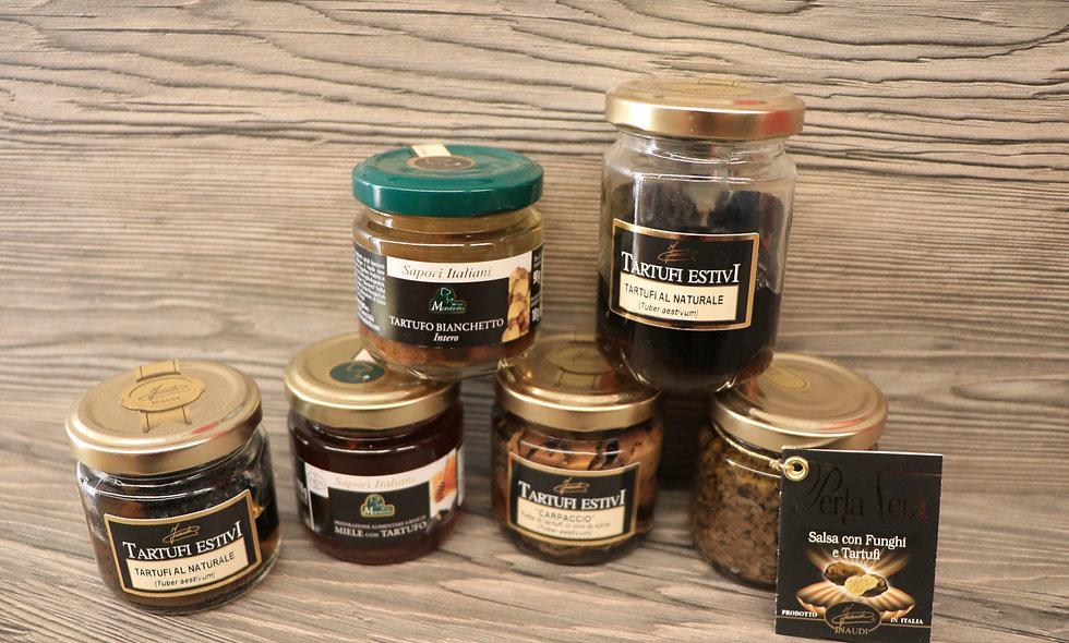 Variété de truffes