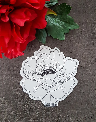 "Sticker ""Flowers 3"""