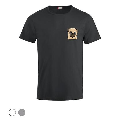 T-shirt unisex - Bouledogue Cartoon