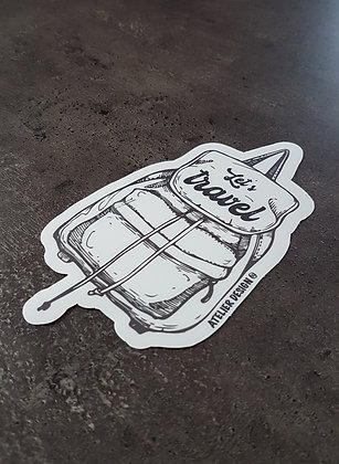 "Sticker ""Travel bag"""