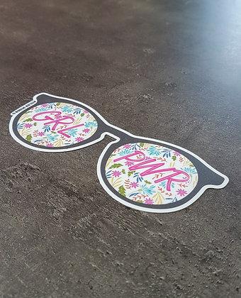 "Sticker ""GRL PWR"""
