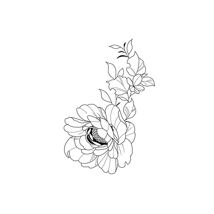 """Pochette """"FLOWER"""""""