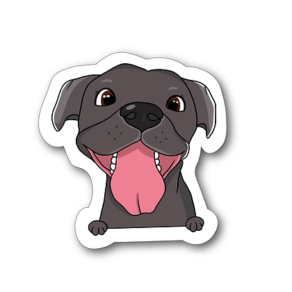 Sticker - Staff Cartoon