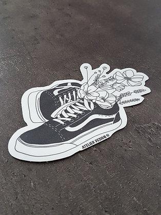 """Sticker """"Vans Flower"""""""