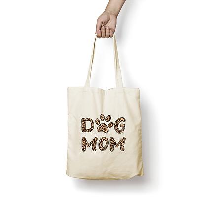 Sac en coton - Dog Mom Leo