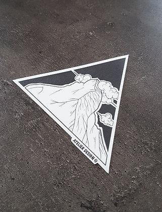 """Sticker """"Le Cervin"""""""