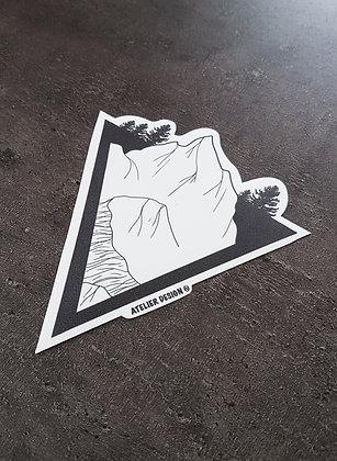 """Sticker """"La Cime de l'Est"""""""