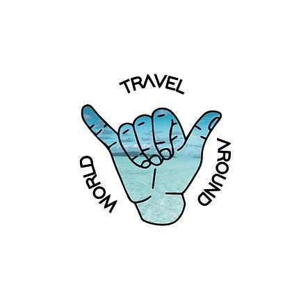 """Sac """"TRAVEL AROUND WORLD"""""""