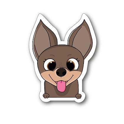 Sticker - Chihuahua Cartoon