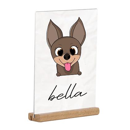 Cadre - Chihuahua Cartoon