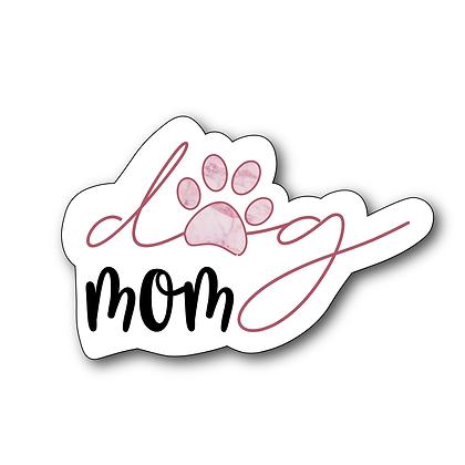 Sticker - Dog Mom Pink