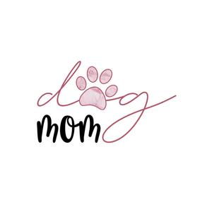 Dog Mom Pink