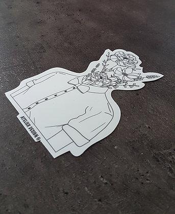 """Sticker """"Men Flower"""""""