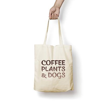 Sac en coton - Coffee & Dogs