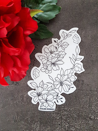 "Sticker ""Flowers 4"""