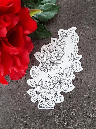 "Sticker ""Flowers 4"""