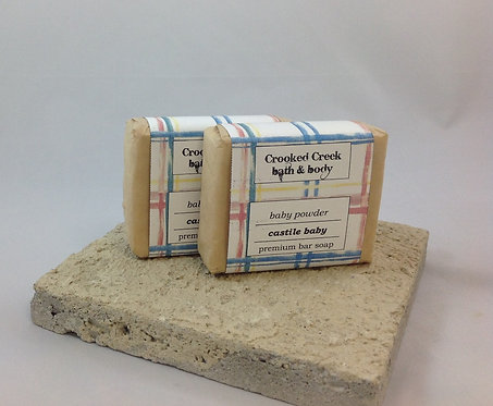 Castile Baby Soap - Baby Powder