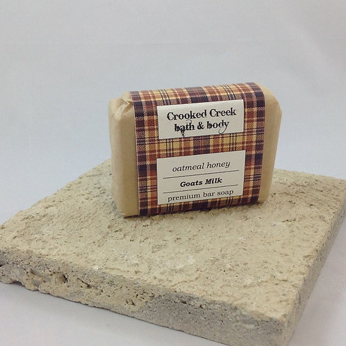 Goats Milk Soap - Oatmeal Honey