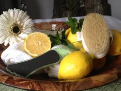 Lemon Foot Massage