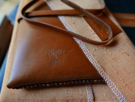 Limited Edition Handcrafted Signed USA Made Leather Products!