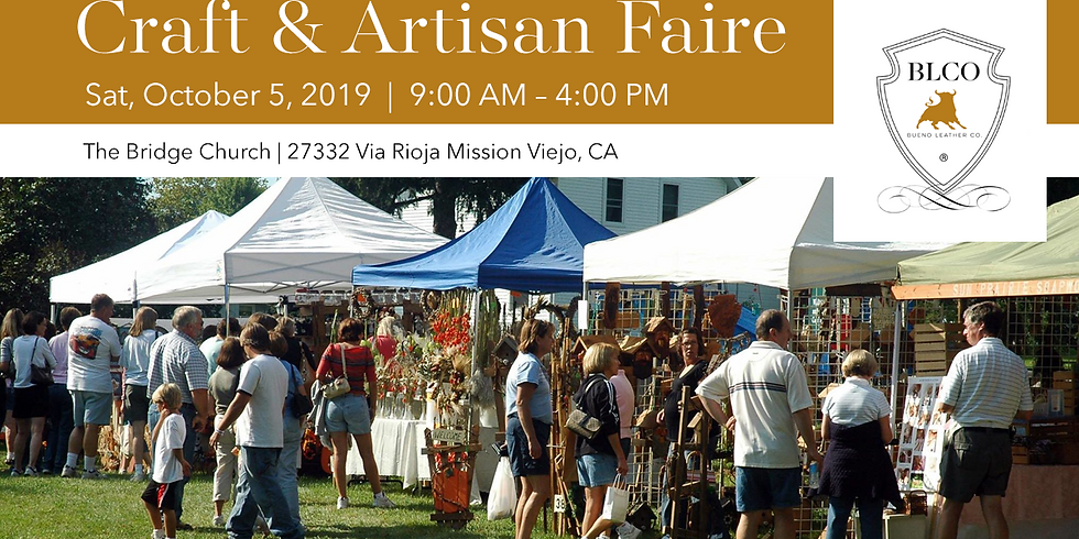 4th Annual Craft and Artisan Faire