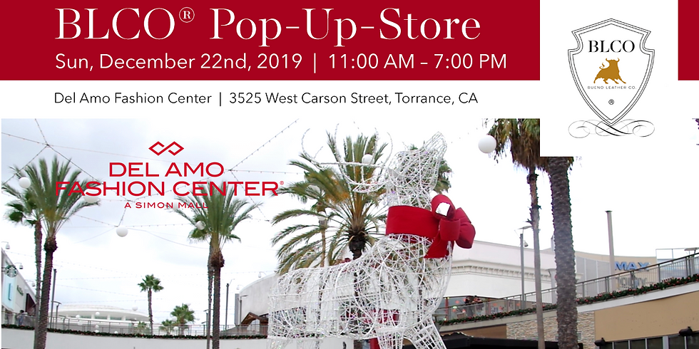 BLCO® Pop-Up-Store in December