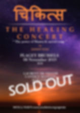 Healing concert 2 logo Texte V2 sold out