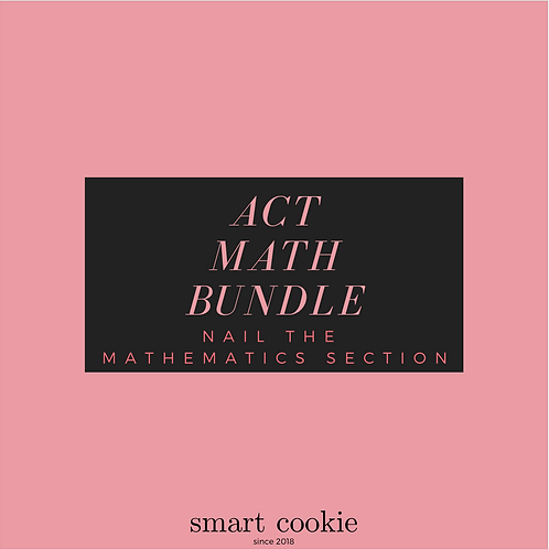 ACT Math Bundle