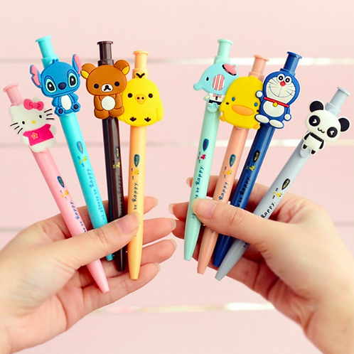 Cartoon Character Ballpoint Pen