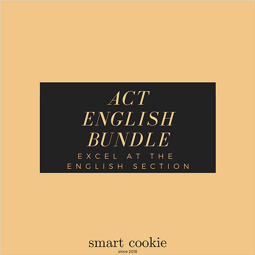 ACT English Bundle