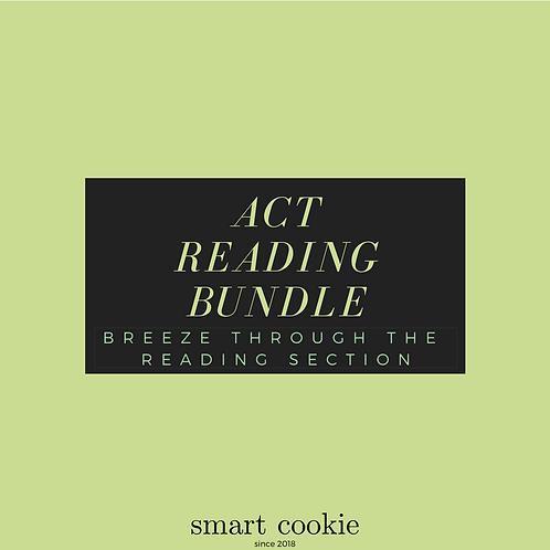ACT Reading Bundle