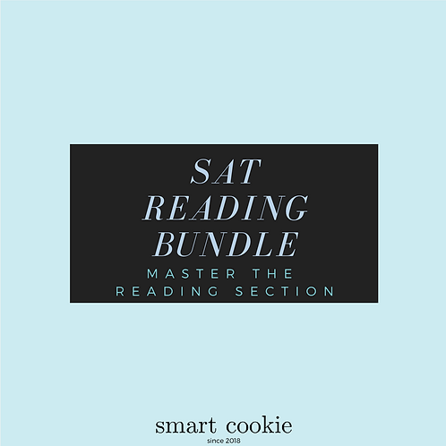 SAT Reading Bundle